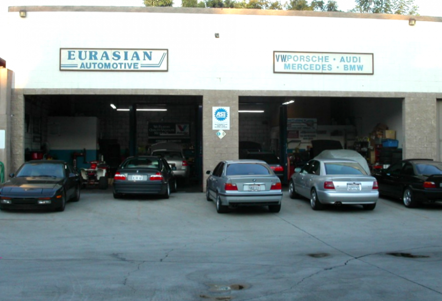 Mercedes benz repair by eurasian automotive in pasadena for Mercedes benz los angeles area