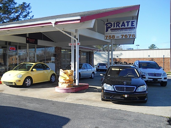 jaguar repair by pirate auto care center in greenville nc. Black Bedroom Furniture Sets. Home Design Ideas